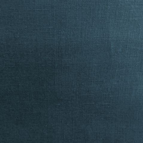 Washed Linen Extra Wide Oilcloth In Petrol This Is A Washed Linen Oilcloth  From France It