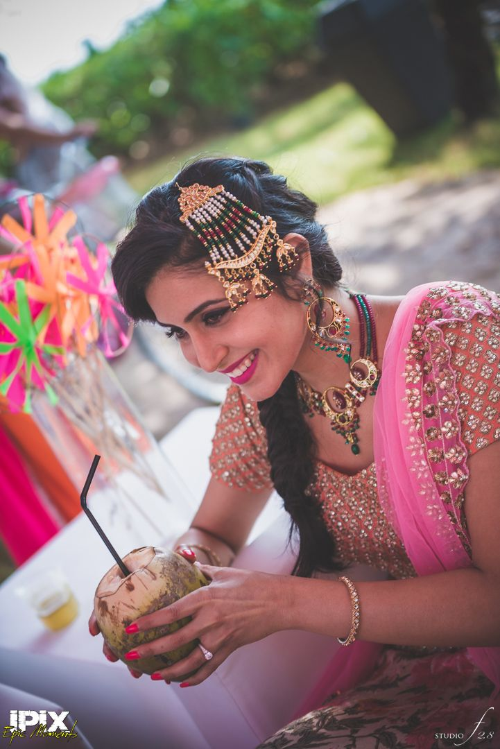 Mumbai based wedding planning team Cineyug Celebrations have outdone themselves yet again with this modern Sikh wedding at the Grand Hyatt Goa! Read More »