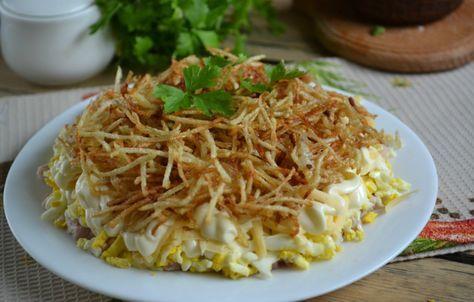 Салат «Вьюга» / Простые рецепты