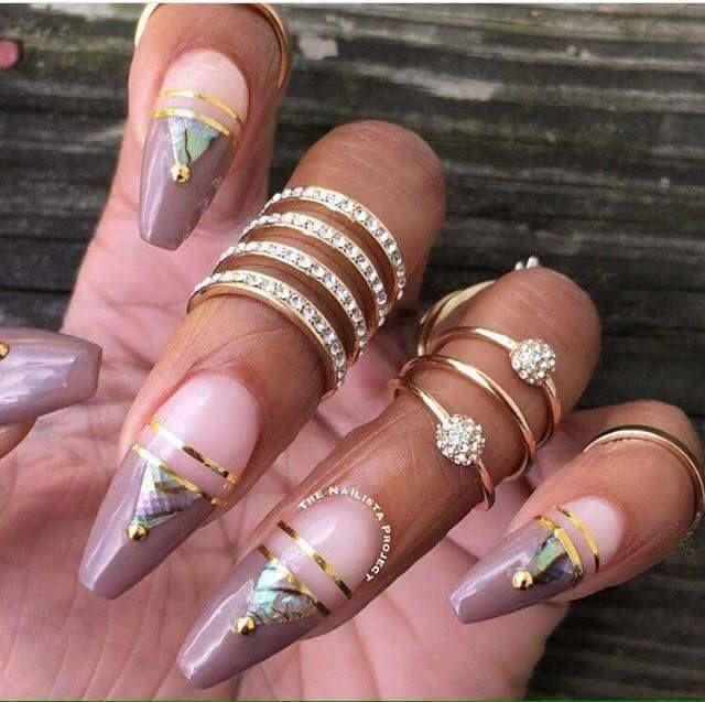 Exotic Nails, Long Nails, Nail Arts, Nail Colors, Nailed It, Nail Designs,  Nail Polish - 1300 Best Nail Designs Images On Pinterest Coffin Nails, Nailed