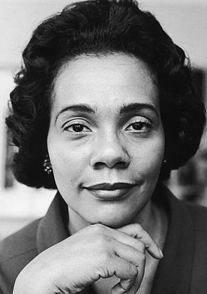 Queen of the Civil Rights Movement.. Coretta Scott King