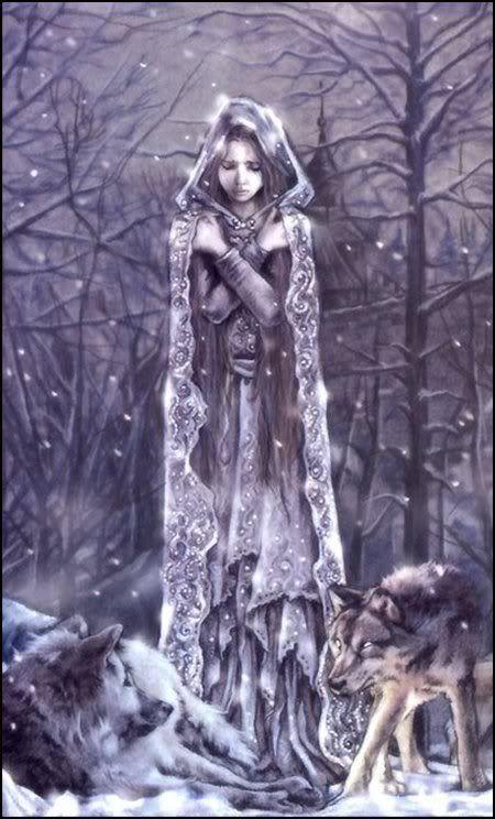 Kolyada - Goddess of the Winter Solstice.