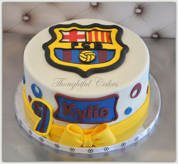 17 Best Images About Fc Barcelona Cake On Pinterest