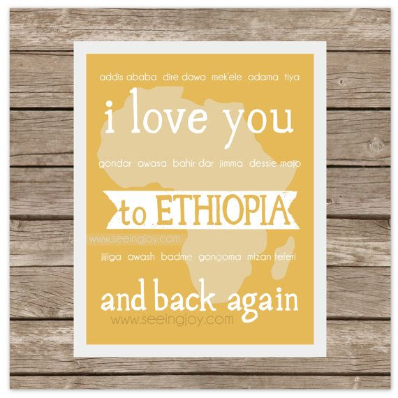 I Love You to ETHIOPIA and Back (Adoption)