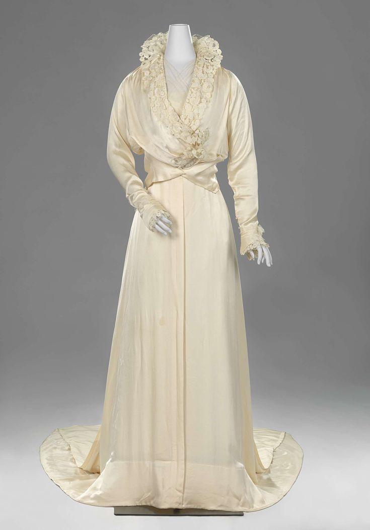 Wedding gown, Hirsch, 1915