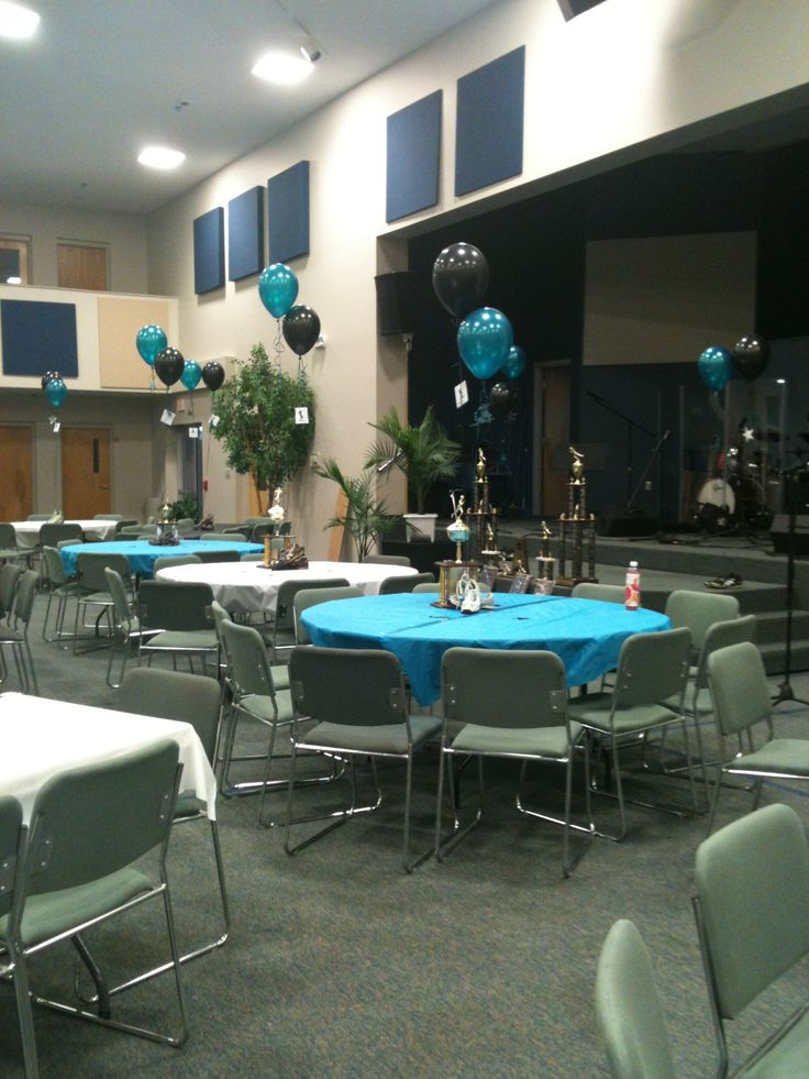 Track and field banquet decorations sports decor