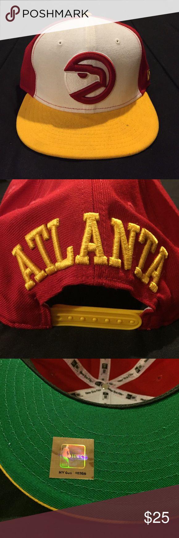 New Era Atlanta Hawks SnapBack Like new condition. New Era Atlanta Hawks SnapBack. No trades New Era Accessories Hats