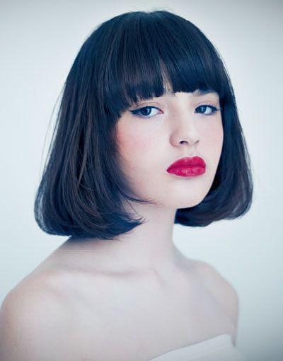 オンナ度をぐっと上げる。〔黒髪×ボブ〕の洗練されたヘアカタログ|MERY [メリー]