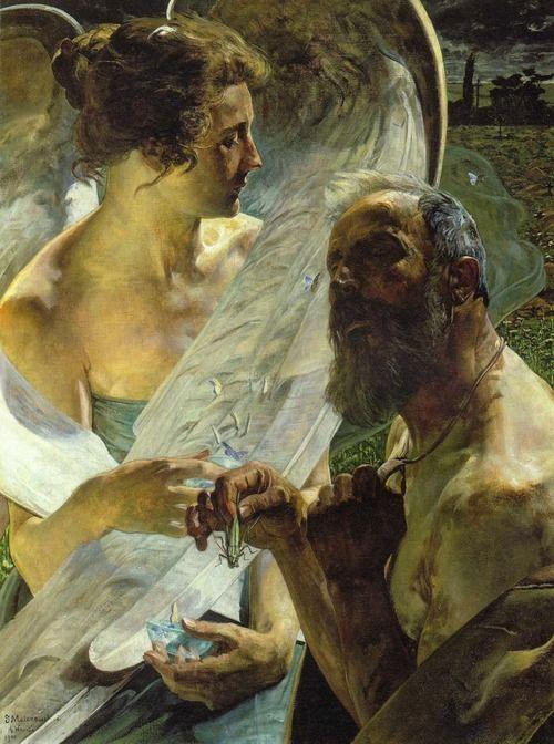 enchantedsleeper:  The Resurrection (Immortality),Jacek Malczewski