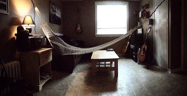 Hammock in my living room was my best decision of 2014.