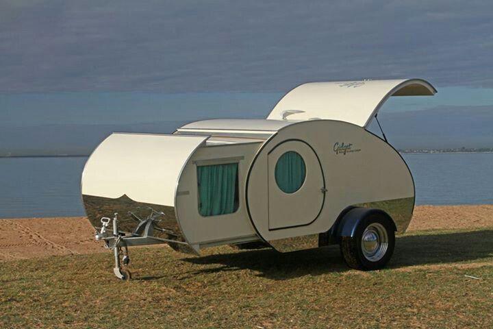 Gidget Retro Teardrop Camper!