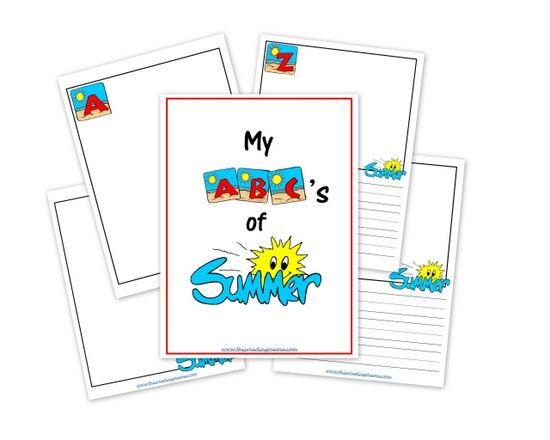 My ABC's of Summer {a FREE Printable Journal}   This Reading Mama