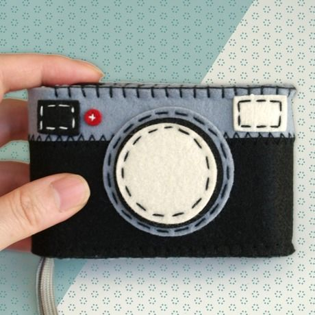 "So Cute! ""FELT CAMERA CASE"""