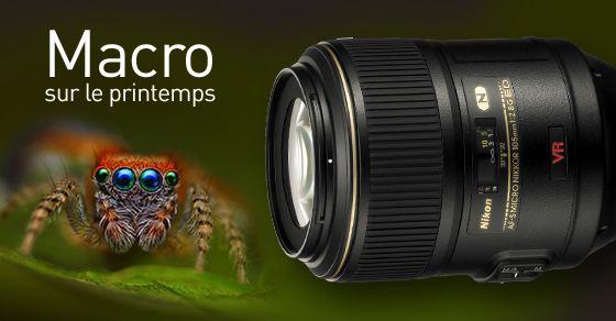 Vous possédez un  #Nikon et vous avez envie de faire de la #macro ,  l'objectif #Nikon AF-S 105/2.8 IF ED MC est donc fait pour vous ! Découvrez le en cliquant deux fois sur l'image, ainsi qu'un large choix d'optiques. Profitez également au passage de notre formation sur la macrophotographie sur www.phoxacademy.fr
