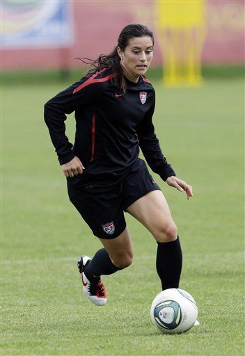 Ali Krieger -USA Women's Soccer    She is going to make it back for the 2012 Olympics. I guarantee it.