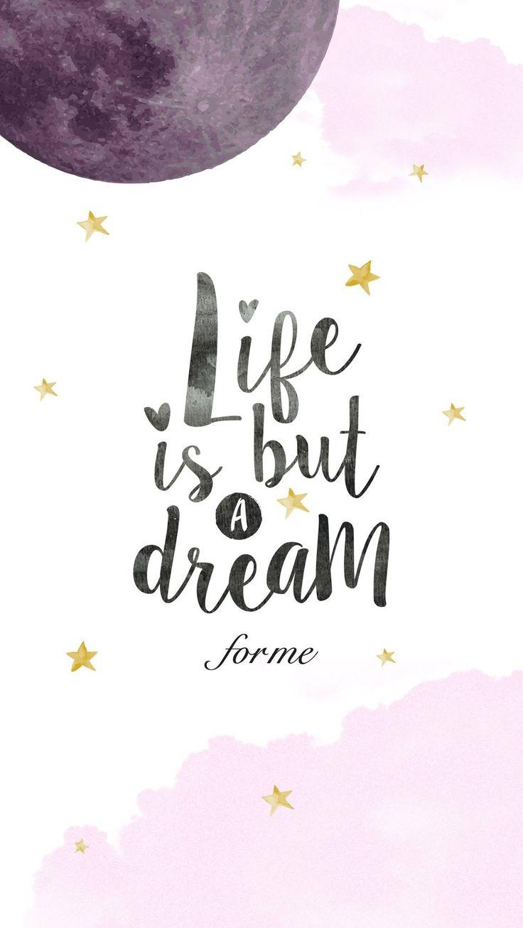 La vida solo es un sueño para mi.