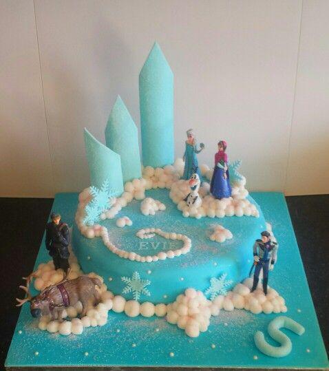 Small frozen cake.