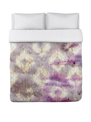 65% OFF Oliver Gal by One Bella Casa Altaria Pink Multi Duvet Cover (Pink/Multi)