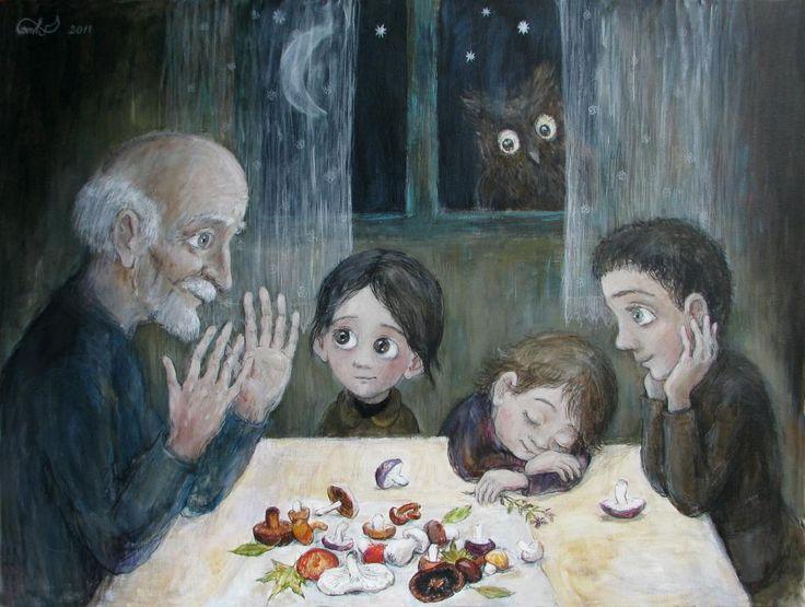 Nino Chakvetadze - artist from Georgia