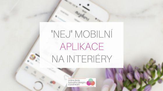 Nejlepší mobilní aplikace na interiéry