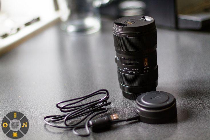Sigma 18-35 f1.8 Art (for Canon) Firmware Update via USB Dock