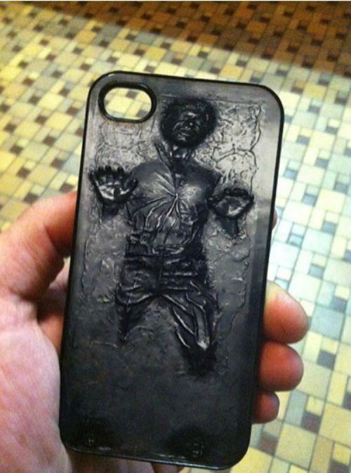 Han Solo iPhone case!!