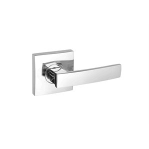 Gainsborough Bright Chrome Angular Passage Lever Set - Bunnings Warehouse
