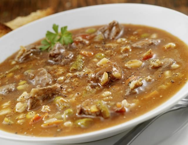 Low-Carb Vegetable Beef Soup in 9 Easy Steps