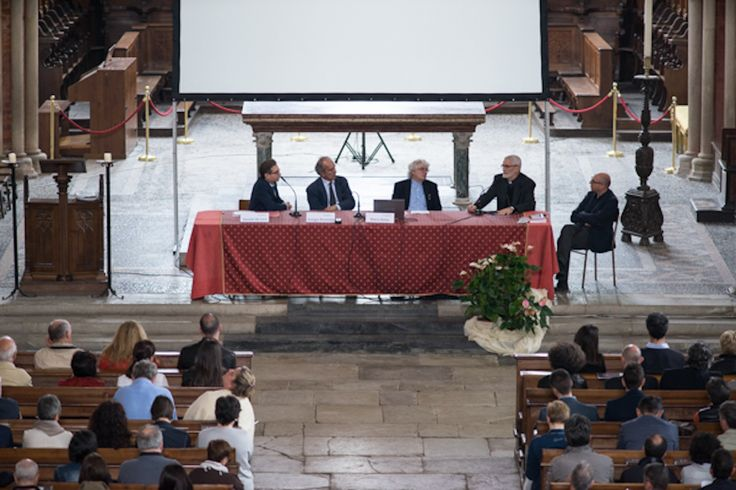 Abbazia di Sant'Andrea di Vercelli, relatori e moderatori del convegno