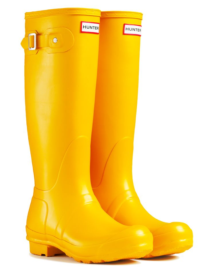 yellow hunter boots | Details about Hunter Original Tall Wellington Boots - Yellow