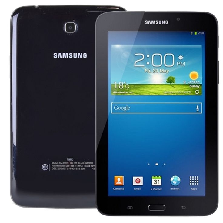 Samsung Galaxy Tab 3 7.0 Dual-Core 1.73GHz 1.5GB 16GB Wi-Fi + 4G LTE 7 Touchscreen Tablet Android 4.4 (Sprint) - B