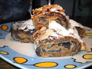vanilla: Mákos pite / Pita sa makom: Sa Makom, Pie, Mákos Pite