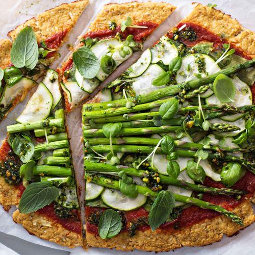 CAULIFLOWER PIZZA - DINNER