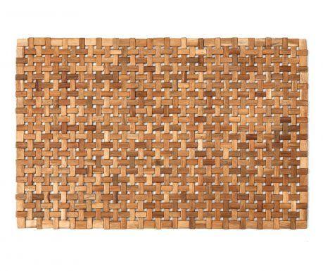 Covoras de baie din lemn Wendy Natural 45x70 cm - Vivre