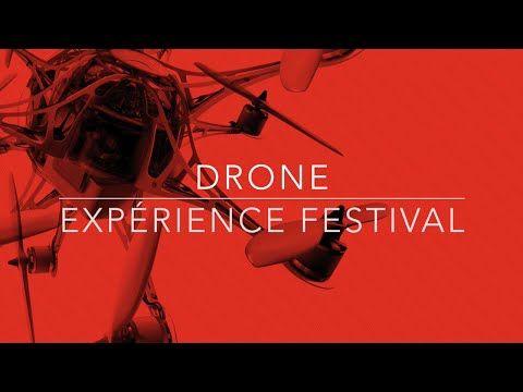 Présentation Drone Experience Festival Nantes - Le salon - Drone Experience