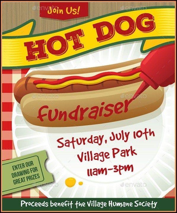 Free Hot Dog Fundraiser Flyer Templates Template 2 Resume Fundraiser Flyer Dog Party Invitations Fundraiser Dinner