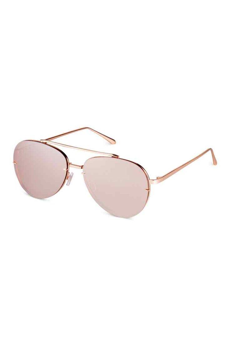 Sunglasses - Rose gold-colored - Ladies | H&M CA