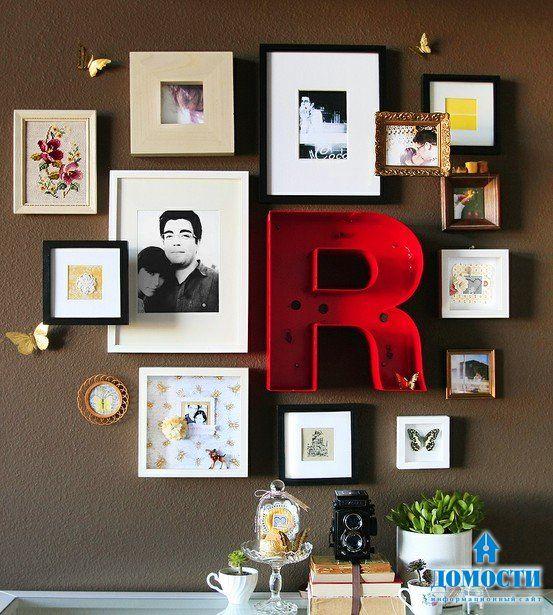 Под фотографии, картинки в рамках на стену своими руками