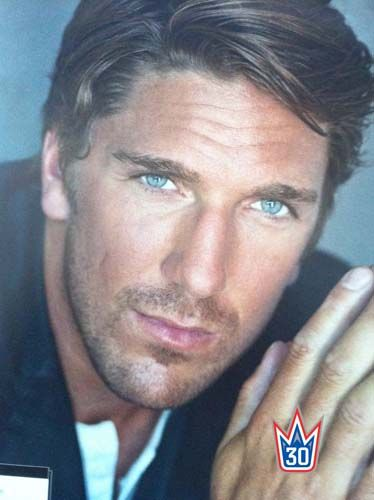 """Henrik Lundqvist.. ummm.. can you say, """"the 'eyes' have it!!"""" ♥"""