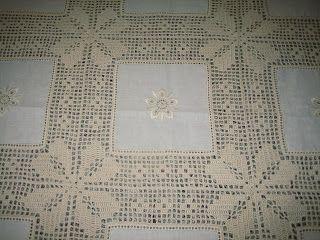 Risultati immagini per toalhas de mesa de jantar em croche