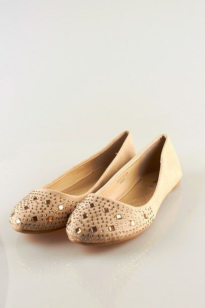 MARGRITH BALLARINA - flat ballerina shoes with glittery studs.
