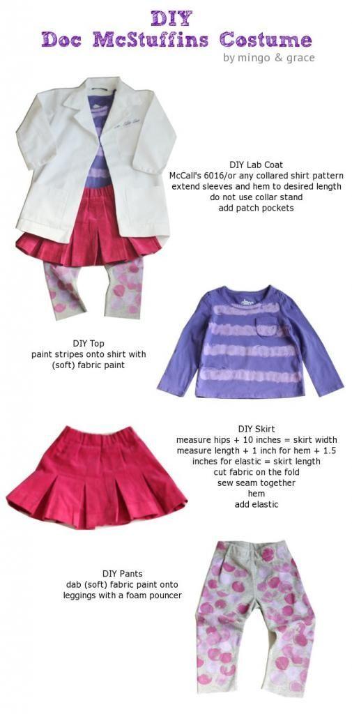 DIY Doc McStuffins Costume | Doc McStuffins outfit |
