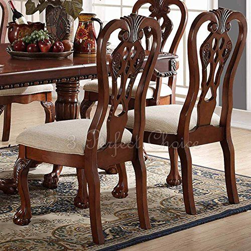 Traditional Cherry Casual Carved Design Dining Room Round: 17 Best Ideas About Cherry Wood Furniture On Pinterest