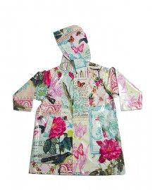 Baby Raincoat - Stormy Day Raincoat Pink