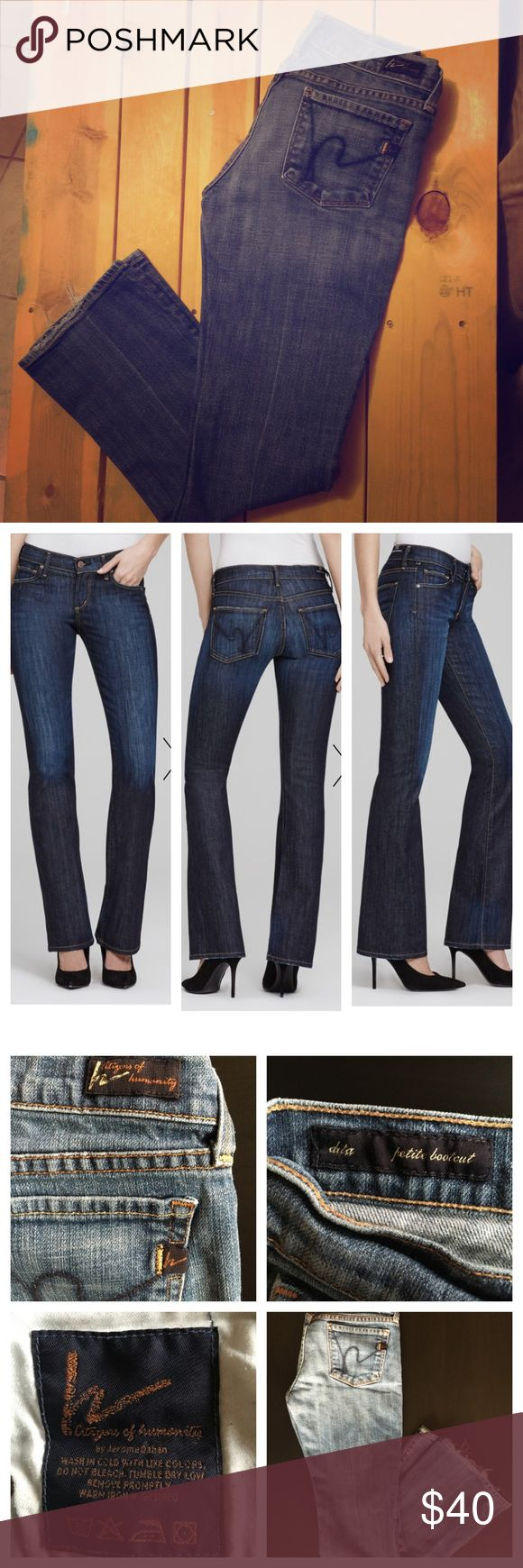 💥SALE 💥Citizens of Humanity Dita Petite Jeans Citizens of Humanity: With over 25 years of experience in the denim industry, founder Jerome Dahan, is a true visionary and the first to bring the concept of luxury designer denim to the global marketplace. Comfortable, durable denim, you can't go wrong with these world class jeans! Citizens of Humanity Jeans