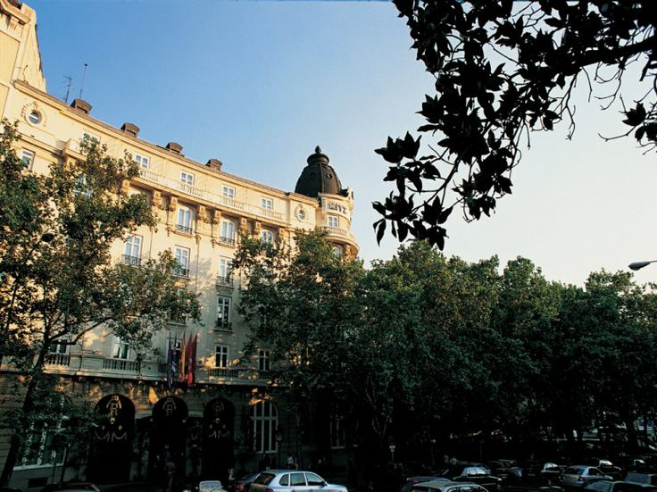 Hotel Ritz in Madrid, stayed here on my last night in Madrid... oh how I miss Spain