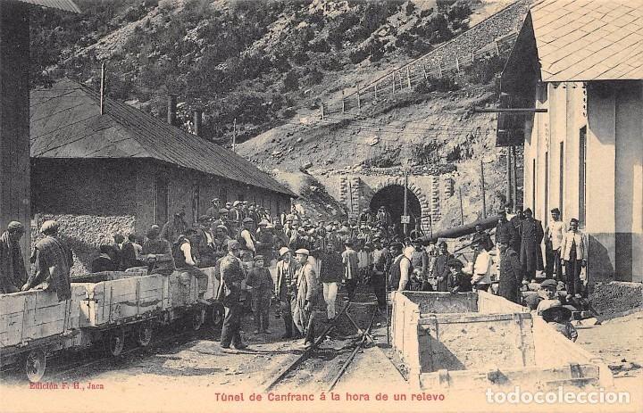 Postales: TUNEL DE CANFRANC A LA HORA DE UN RELEVO - Foto 1 - 75201279