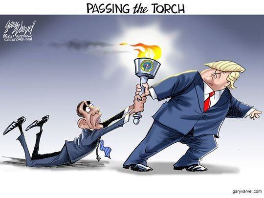 Just let go, Obama.