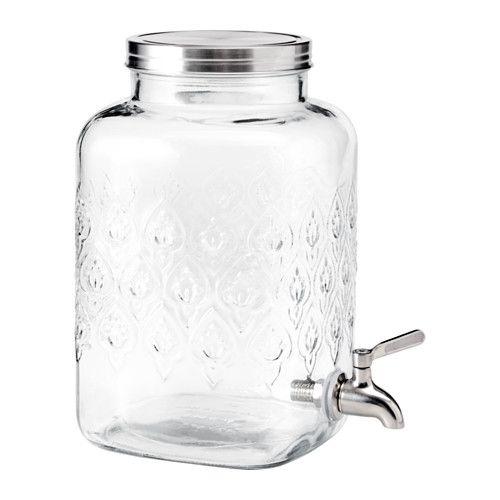 ФЁРФРИСКНИНГ Кувшин с краном IKEA Тип стекла: натрий-кальций-силикатное стекло.