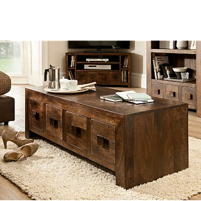 too wide :( Goa Coffee Table 4 Drawer